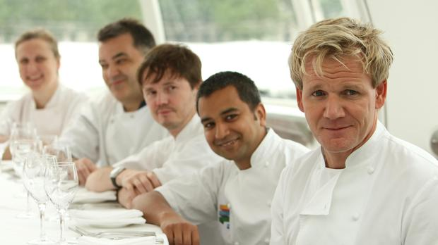 Gordon Ramsay's restaurants have recovered from losses recorded the year before (PA)