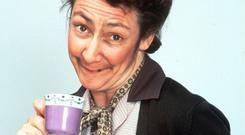 'One I can think of is Mrs Doyle of Father Ted fame. She'd look great holding a cup of tea with her squinting eye - ah, the way she might look at you...'
