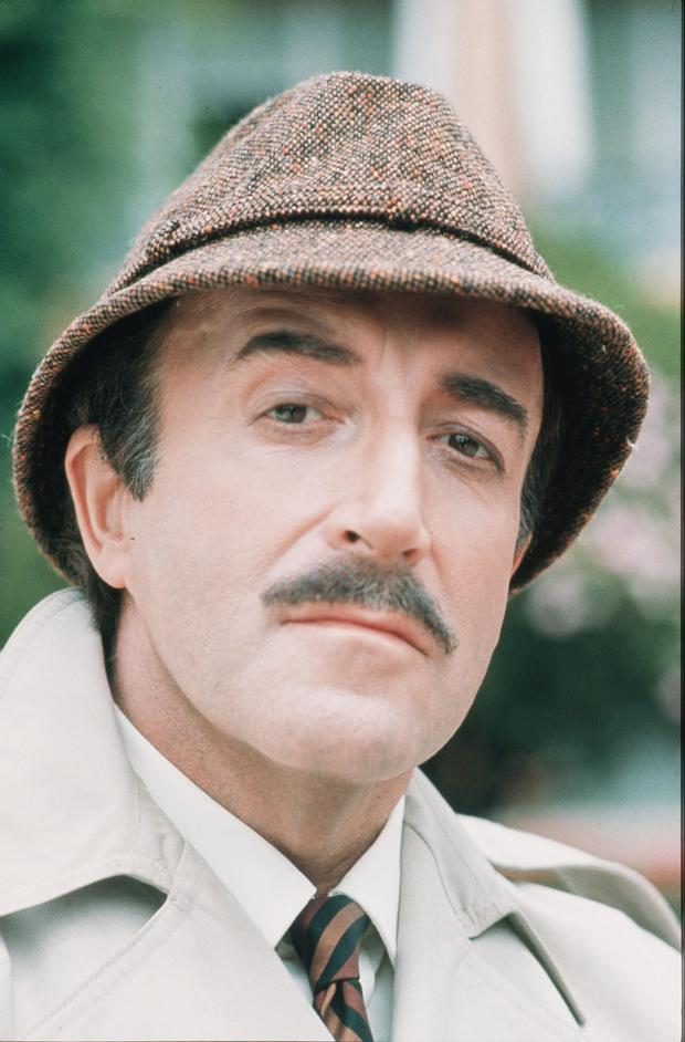 Peter Sellers as Inspector Clouseau from the Pink Panther (1963).