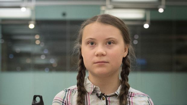 Swedish climate activist Greta Thunberg is taking a year off school to keep raising awareness of climate change (Stefan Rousseau/PA)