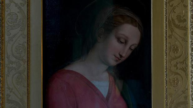 The Haddo Madonna is part of the collection at Haddo House (Newsline Media Limited/NTS Media Pics/PA)