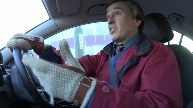 Steve Coogan avoided a driving ban because he needs to drive as Alan Partridge