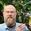 Comedian Olaf Falafel wins the Dave Joke of the Fringe 2019 award. (UKTV Dave/Martina Salvi)