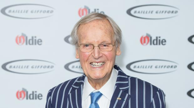 Nicholas Parsons is said to be 'on the mend' after his Just A Minute absences (Dominic Lipinksi/PA)