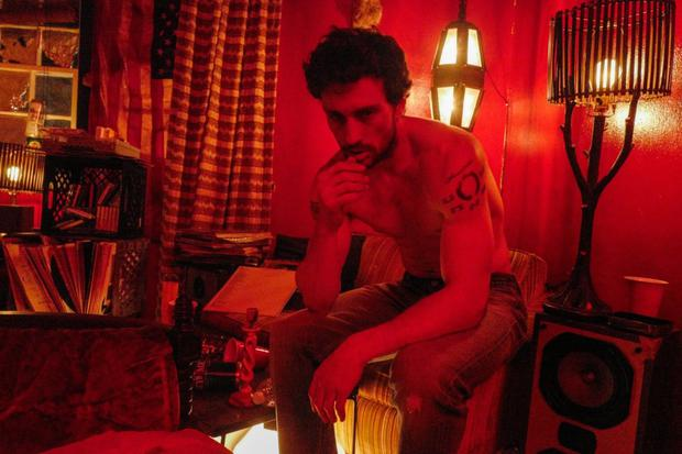 Red mist: Aaron Taylor-Johnson as James Frey in A Million Little Pieces