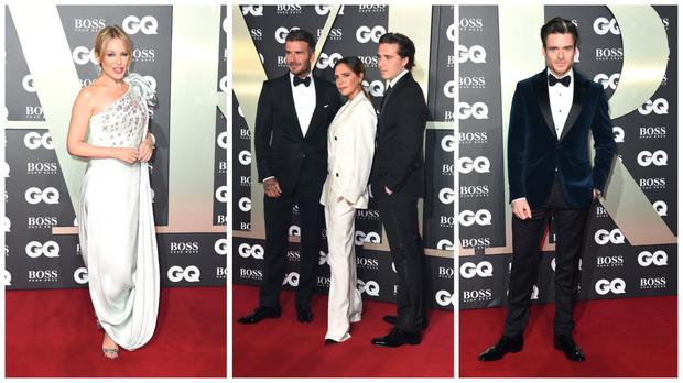 The GQ Men of the Year read carpet (PA)