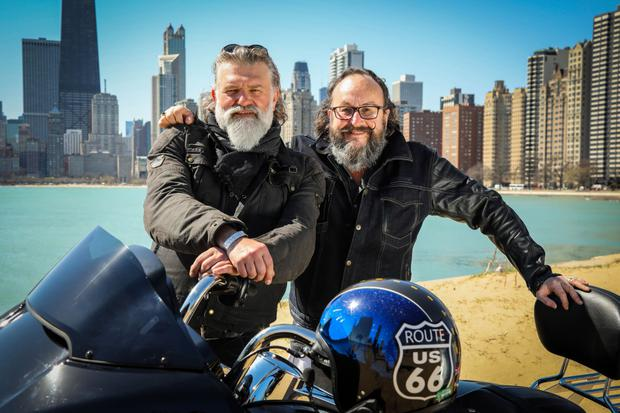 The Hairy Bikers in Chicago