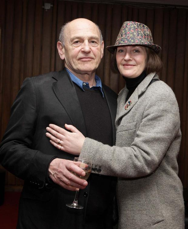 Jane Brennan and her late husband, playwright Tom Murphy