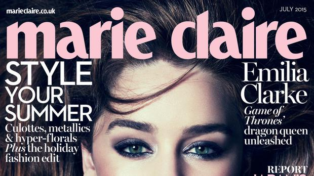 The magazine's November issue will be its last in print. (David Roemer/Marie Claire UK)