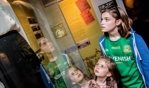 Families can visit the Croke Park Museum