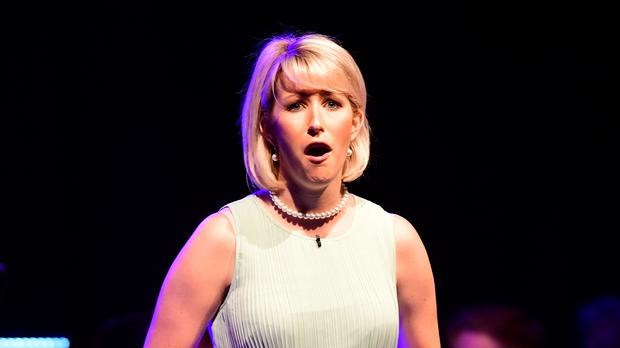 Natasha John as Diana during the Call Me Diana showcase (Ian West/PA)