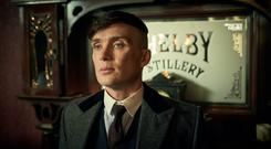 Cillian Murphy in Peaky Blinders, which is essentially British, but features a heavy Irish influence