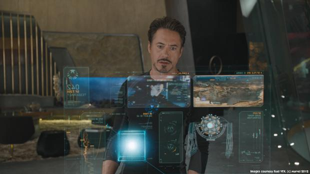 Samsung has patented a holographic TV menu like something Tony Stark has in Iron Man