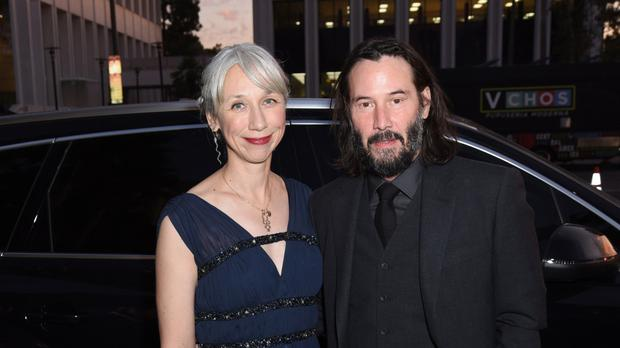 Keanu (55) has found love with artist Alexandra Grant (46)