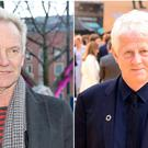 Sting and Richard Curtis will be among the honourees at an awards ceremony that recognises anti-poverty campaigners (Owen Humphreys and Ian West/PA)