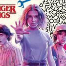 Stranger Things calendar front cover (Danilo Promotions)