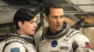 Anne Hathaway and Matthew McConaughey are scientists tasked with saving the planet in Christopher Nolan's 'Interstellar'.
