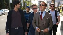 Lads: HBO rolled out the 'Entourage' crew for a less-than satisfying film adaptation