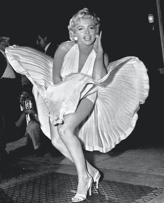 """Hitched: Marilyn Monroe in """"The Seven Year Itch""""."""