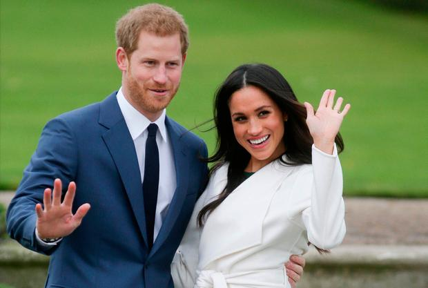 Harry and Meghan. PHOTO: DANIEL LEAL-OLIVAS/Getty Images