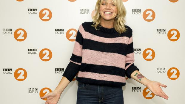 Zoe Ball takes over from Chris Evans on the Radio 2 Breakfast Show (BBC)