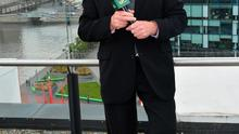 Big hitter: Pat Kenny at the launch of UTV Ireland last August. Photo: Cathal Burke