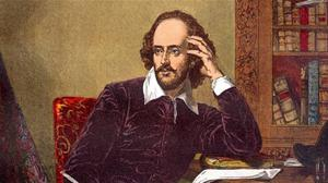 Quill power: Shakespeare's supposed example fuelled the idea that lockdown is the perfect time to write
