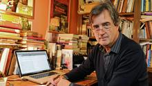 Sebastian Barry at his home in Wicklow. Photo: Dave Meehan