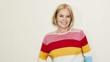 """Mariella Frostrup says going through the menopause was like being """"sucked into a black hole"""". Photo: Kate Martin"""