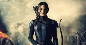 Prickly yet sympathetic: Katniss from Hunger Games