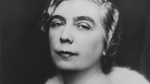 Nora Barnacle pictured on her wedding day