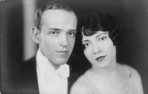 Dance stars: Adele Astaire with her brother Fred