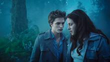 Vampire love: Edward and Bella in the movie version of Twilight