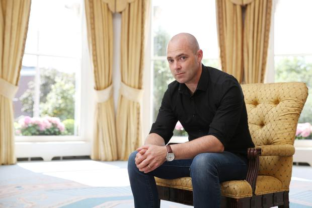 Award-winning author Donal Ryan. Photograph: Fran Veale