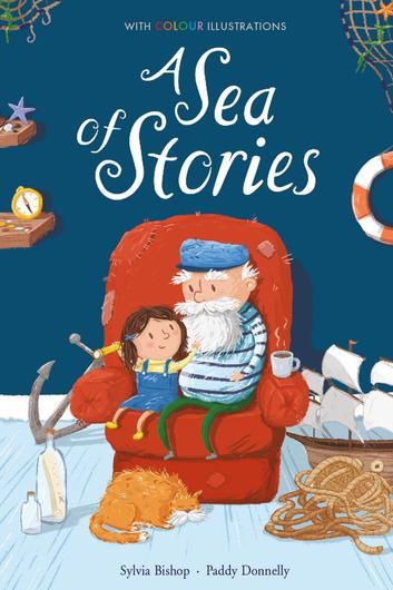 A Sea of Stories by Sylvia Bishop, illustrated by Paddy Donnelly