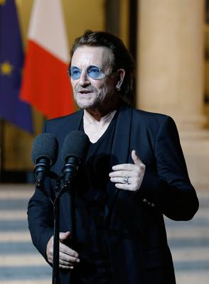 Bono and the Edge were the only two celebs who did not treat her as a 'tiresome hanger on'