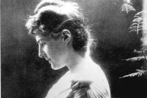 Radiant: Florence Stoker was a beauty who was sketched by Oscar Wilde and Edward Burne-Jones