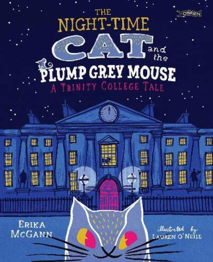 The Night-Time Cat and the Plump Grey Mouse by Erika McGann, illustrated by Lauren O'Neill