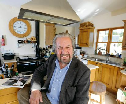 Paolo Tullio,at his home in Annamoe, Co. Wicklow. DAVE MEEHAN