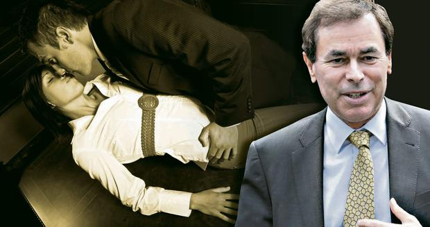 Leinster love affair: Alan Shatter's 'Laura' includes a romp in Leinster House
