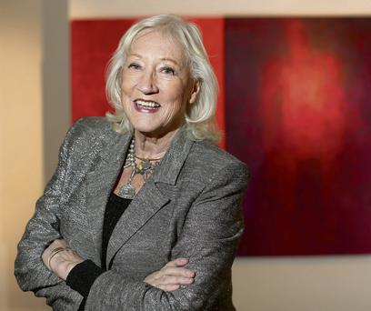 Bereaved: Painter Anne Madden has opened a new exhibition in the Taylor Gallery, Dublin. Photo: Gerry Mooney