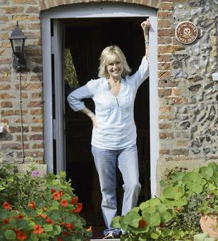 Trooper: Liza Goddard has travelled the world as an actress and has been married three times. She shares her home in Norfolk with nature-film director David Cobham