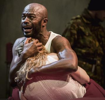 OTHELLO: Chris Obi delivers the goods in his final scenes