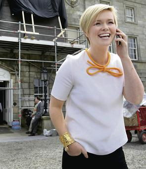 'Lovingly written': Cecelia Ahern chose 'Glaciers'. Photo: Steve Humphreys