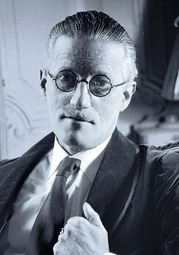 James Joyce: legendary Dublin writer