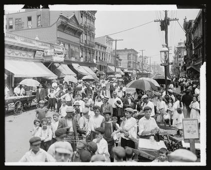 Brooklyn in the 1940s: where so many Irish made their home