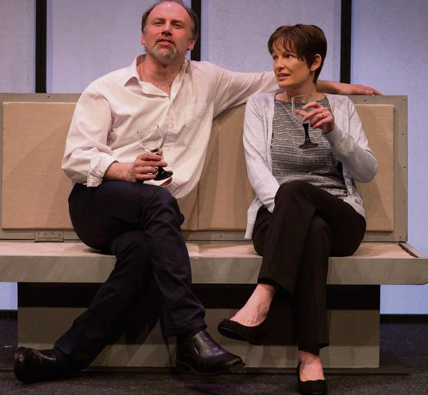 ROLE REVERSAL: Don Wycherley and Jennifer O'Dea lack chemistry in David Horan's 'Faith'.