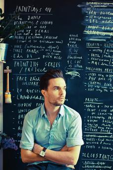 Oliver Jeffers. Photo: Malcom Brown.