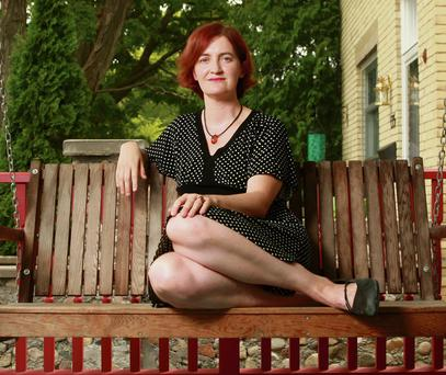 BRILLIANT: Emma Donoghue's new book starts with a murder, but it is much more than just another crime thriller. Photo: Dave Chidley