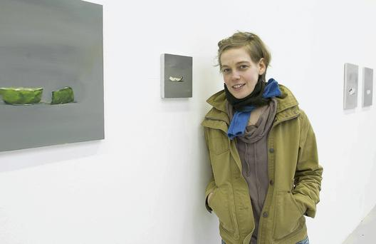 Mollie Douthit, to feature in London's Saatchi Art Gallery exhibition.